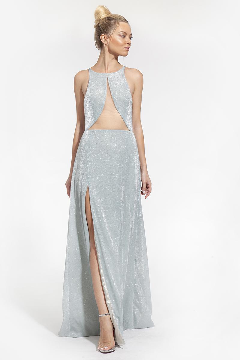 10 - κωδικός 2005 - 408€ -- φόρεμα maxi με διαφάνεια και σκίσιμο (1)